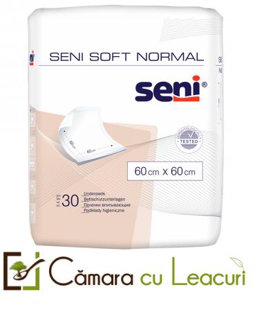 Aleze Igienice de Protectie Seni Soft Normal  60x60 30 buc0