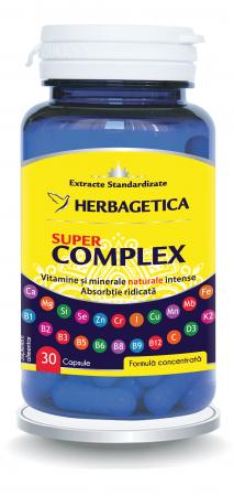 Super Complex 30 cps Herbagetica0