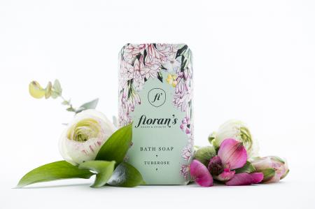 Sapun Tuberose (Tuberoza) - Parfumul dragostei x 200 g Florans [0]