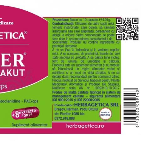 Urimer Akut 30 cps Herbagetica2