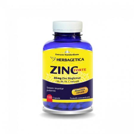 Zinc Forte 120 cps Herbagetica0