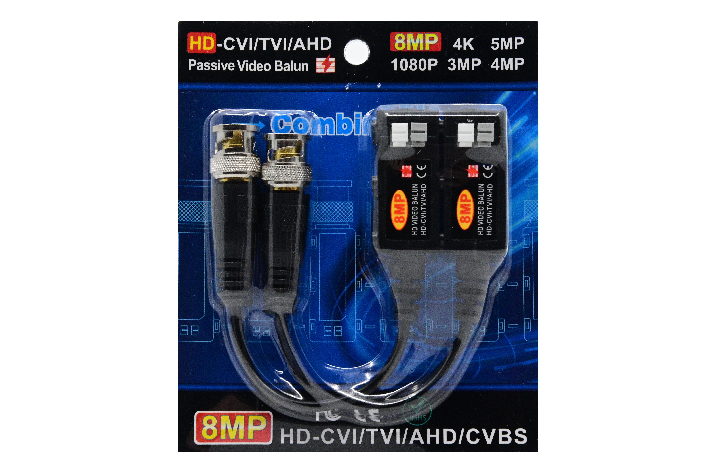Video balun 8MP   HD-CVI/TVI/AHD/CVBS [0]