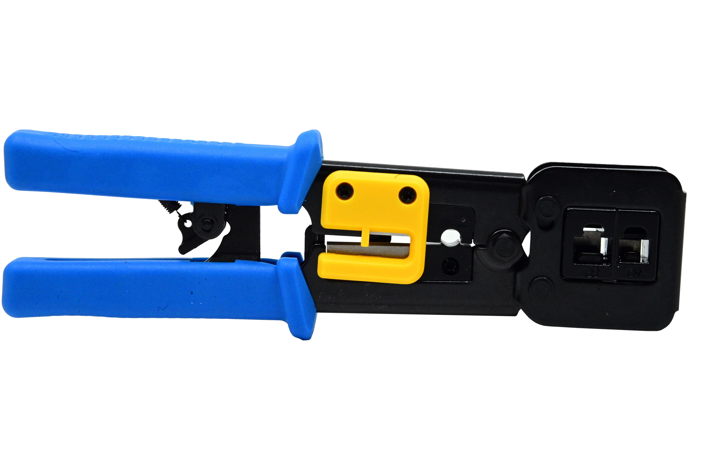 Cleste pentru sertizat mufe retea  RJ45 Pass through connector [3]