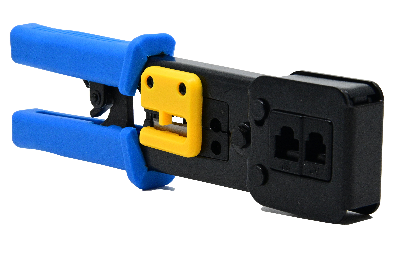 Cleste pentru sertizat mufe retea  RJ45 Pass through connector [4]