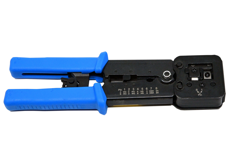 Cleste pentru sertizat mufe retea  RJ45 Pass through connector [2]