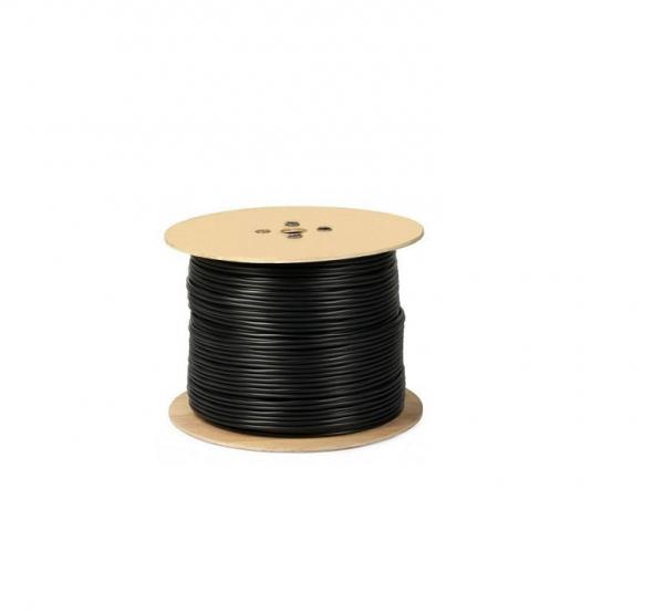 Cablu RG 59 coaxial cupru 100% cu alimentare 2x0.75 mm tambur 305 m [0]