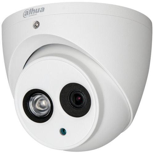 Camera de supraveghere Dahua HAC-HDW1200EM-POC. HD-CVI. Dome. 2MP 1080p. CMOS 1/2.7''. 2.8mm. 1 LED Array. IR 50m. IP67. PoC. Carcasa metal [0]