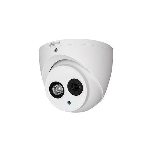 Camera de supraveghere Dahua HAC-HDW1500EM-A-0280B, HDCVI, Dome, 5MP, CMOS 1/2.7'', 2.8mm, IR 50m, Microfon, IP67, carcasa metal [0]