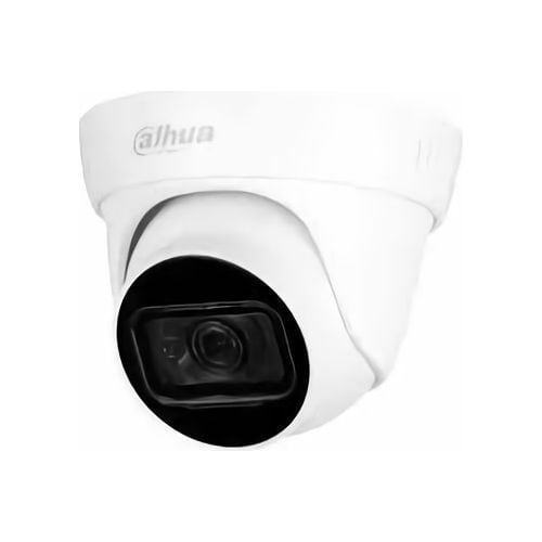 Camera de supraveghere Dahua HAC-HDW1801TL-A-0280B, Dome Eyeball HDCVI 8MP, 1/2.7 CMOS, 4K@15fps, 5M@20fps; 4M@25fps/30fps, CVI/CVBS/AHD/TVI, 2.8mm, IR 30m, Smart IR, 120dB True WDR, 3DNR, Built-in Mi [0]