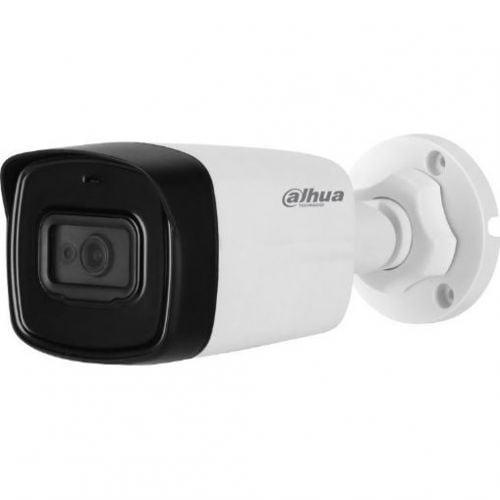 Camera de supraveghere Dahua HAC-HFW1200TL-0360B Bullet, HDCVI, 2MP, CMOS 1/2.7,  3.6mm, 2LED, IR 40m, IP67, carcasa plastic [0]