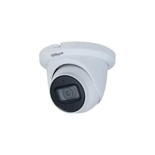 Camera de supraveghere Dahua IPC-HDW2431T-AS-0280B-S2, IP Dome 4MP, CMOS 1/3'', H.265+, 2.8mm, IR30m, Microfon, MicroSD, IP67, PoE, carcasa metal [0]