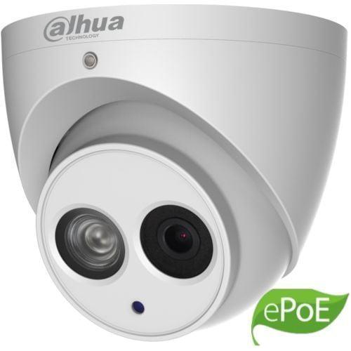 Camera de supraveghere Dahua IPC-HDW4431EM-ASE-0280B, Dome Eyeball IP 4MP, CMOS1/3, H.265+, 25/30fps@4M. 2.8mm, IR 50m, WDR 120dB, Built-in Mic, MicroSD128GB, IP67, ePoE, Carcasa metal [0]