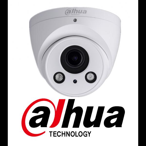 Camera dome IP Dahua IPC-T2A20-Z 1.3MP, varifocala motorizata 2.7-12mm, IP67, IR 60m, slot card, PoE [0]