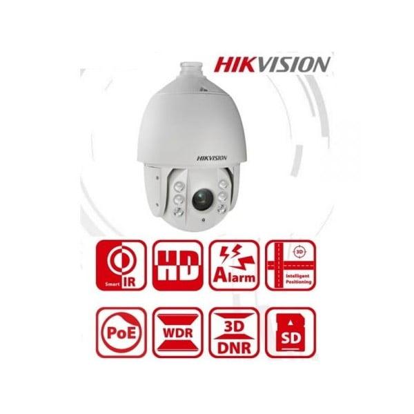 Camera supraveghere Speed Dome IP PTZ 4MP Hikvision DS-2DE7430IW-AE (zoom optic 30x, 5.9-177mm, IR max. 150m, Hi-PoE) slot card [0]