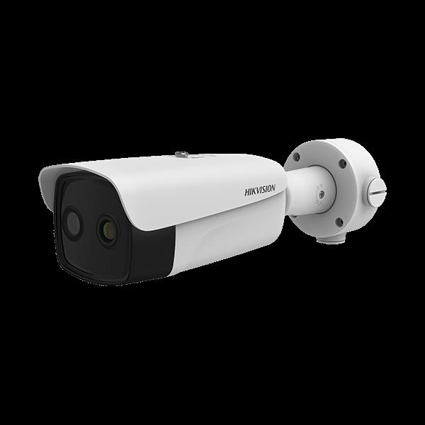 Camera supraveghere Termala Hikvision DS-2TD2617B-3PA pentru detectia de la distanta a persoanelor cu febra [0]