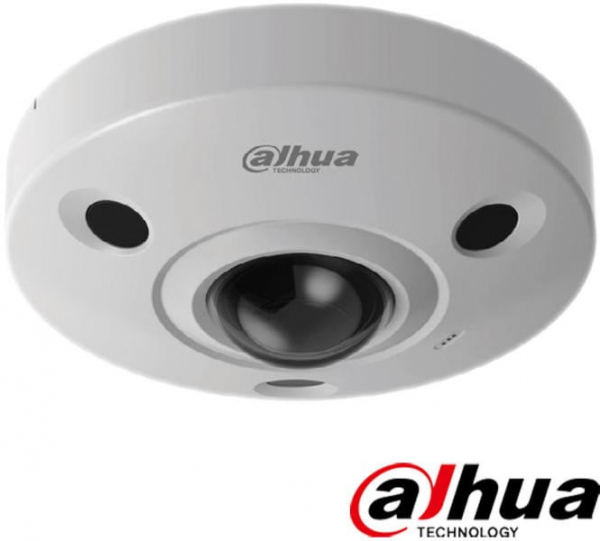 Camera supraveghere video  Dome Dahua Fisheye 8MP HAC-EBW3802 , IR 15 m, 2.5 mm, microfon [1]