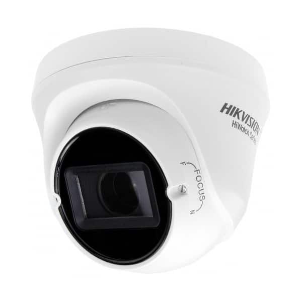 Camera Turbo HD Hikvision HiWatch HWT-T340-VF, 4 MP, lentila 2.8 mm-12 mm varifocala, 4in1, EXIR 2.0, Smart IR 40 m, IP66 [0]