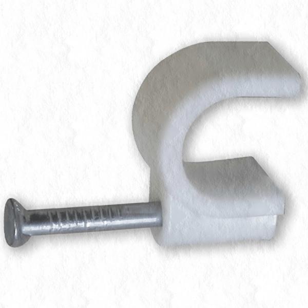 Cleme CUI 10mm pentru fixarea cablurilor de suport set 100 buc [0]