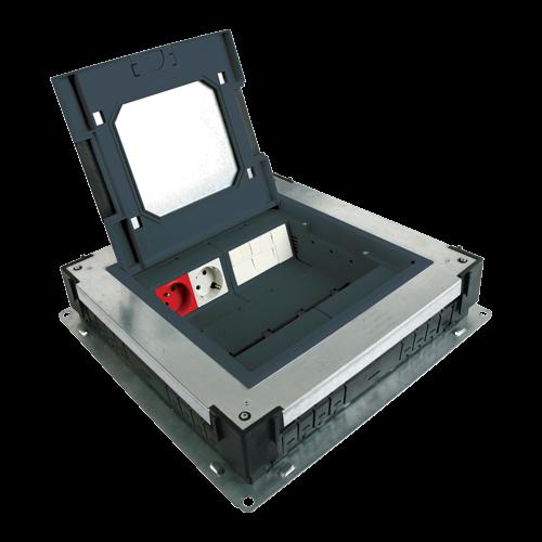 Doza de pardoseala in carcasa metalica - DLX [0]