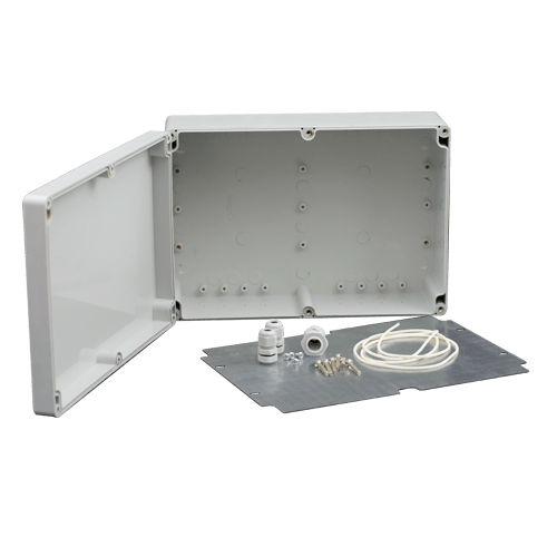 Doza exterior cu contraplaca metalica pentru montaj echipamente [0]