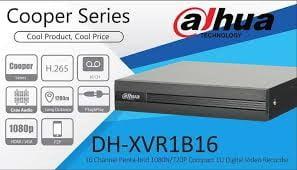 DVR 16 canale Dahua XVR1B16  H.265+, 1080N Pentabrid HDCVI, HDTVI, AHD, CVBS + IP  audio prin HDCVI [0]