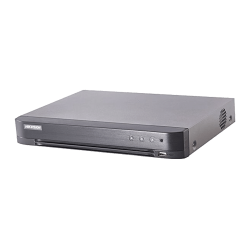 DVR 4 canale video 4MP lite, AUDIO HDTVI over coaxial - HIKVISION [0]
