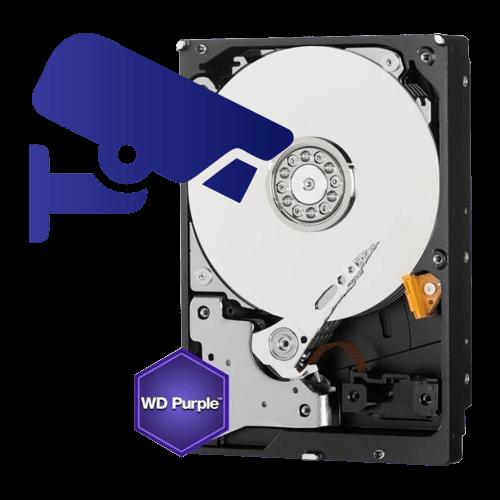 Hard disk 1000GB  WD PURPLE [0]