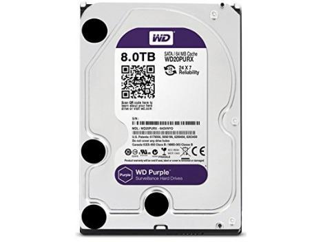 HDD Western Digital Surveillance Purple intern 8TB WD80PURX [0]