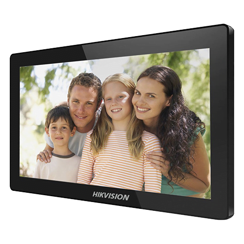 Monitor videointerfon TCP/IP Wireless, Touch Screen IPS-TFT LCD 10 inch - HIKVISION [0]