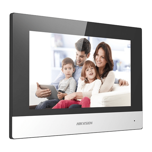 Monitor videointerfon Touch Screen TFT LCD 7 inch'conectare 2 fire'Wifi - HIKVISION DS-KH6320-WTE2 [0]