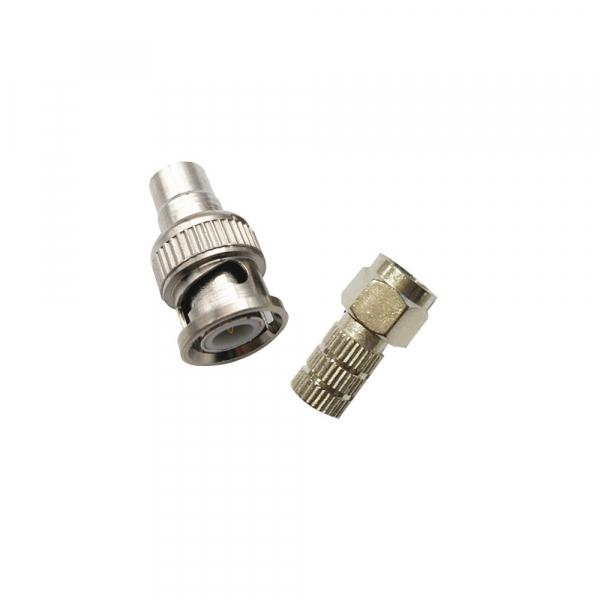 Mufa conector bnc camera pentru coaxial rg59   mufa F [0]