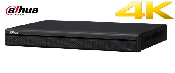 NVR 32 canale Dahua NVR5432-16P-4KS2, 16 porturi PoE, HDMI 4K, 4xSATA, H.265 [0]