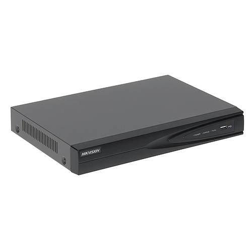 NVR 4 canale IP, Ultra HD rezolutie 4K - 4 porturi POE - HIKVISION [0]