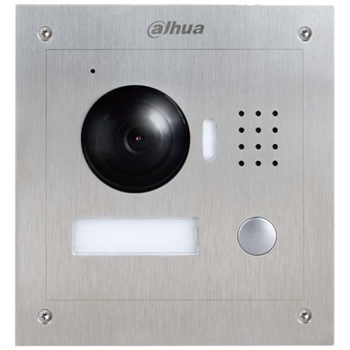 Post exterior videointerfon Dahua VTO2000A. Camera HD 1.3MP. 1 buton acces. IP54. IK07 [0]
