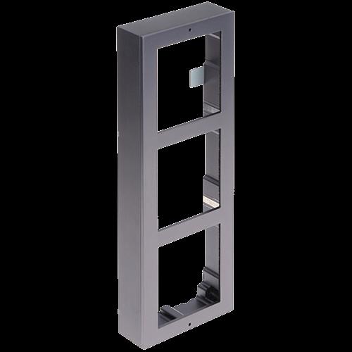 Rama montaj aparent, 3 module, pentru Interfon modular - HIKVISION [0]