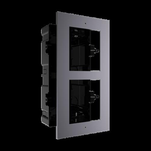 Rama montaj ingropat, 2 module, pentru Interfon modular - HIKVISION [0]
