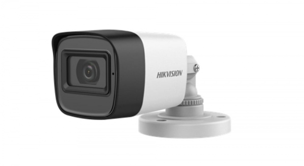 Sistem supraveghere mixt audio-video Hikvision 3 camere Turbo HD 2MP DVR 4 canale [2]