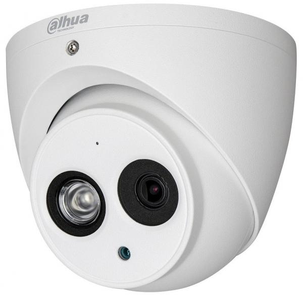 Sistem supraveghere video 4 camere Dahua Dome HDCVI 2MP cu IR 50 cu toate accesoriile, soft internet, microfon, difuzor [1]