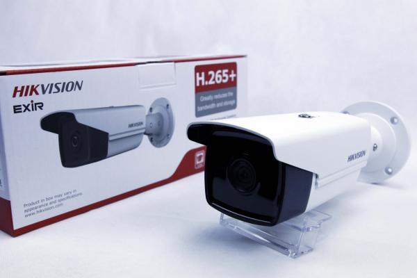 Sistem supraveghere video 8 camere exterior Turbo HD 5MP IR80m Hikvision cu toate accesoriile incluse, cadou HDD 2TB [1]