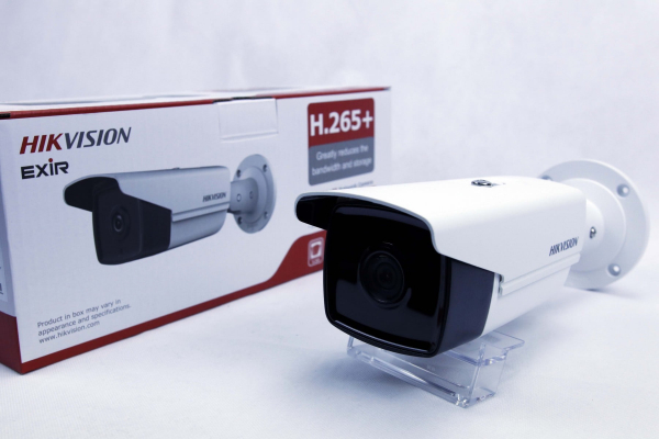 Sistem supraveghere video exterior complet Hikvision 4 camere Turbo HD 5 MP 80 m IR cu toate accesoriile, cadou HDD 1tb [3]