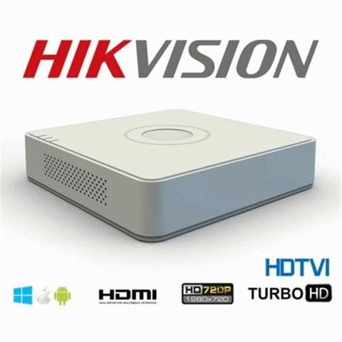 Sistem supraveghere video mixt complet 6 camere Turbo HD Hikvision 4 exterior IR40M  2 interior, DVR 8 canale, full accesorii, live internet [3]
