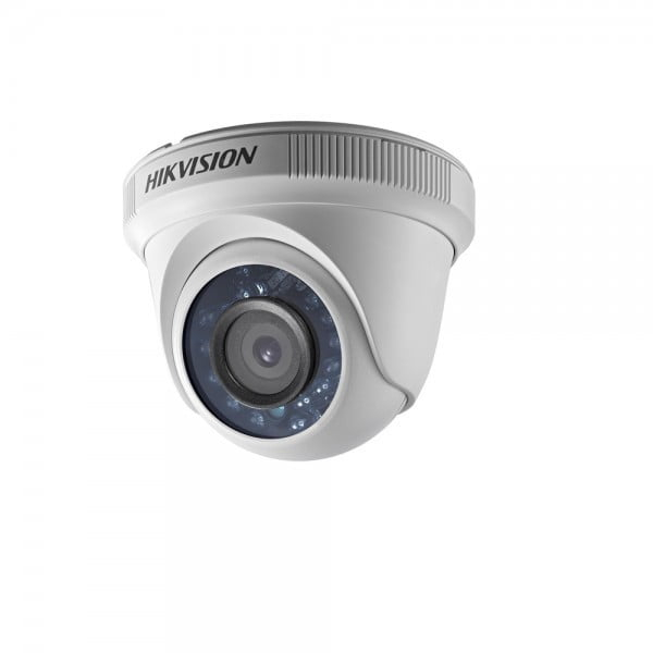 Sistem supraveghere video mixt complet 6 camere Turbo HD Hikvision 4 exterior IR40M  2 interior, DVR 8 canale, full accesorii, live internet [1]