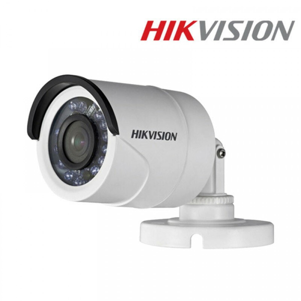 Sistem supraveghere video mixt  Hikvision 2 camere Turbo HD IR 20 M  cu DVR Hikvision 4 canale, full accesorii [2]