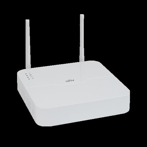 Sistem wireless de monitorizare video camere IP exterior 2 MP sd card FULL HD UNV KIT-2122F40W-4B [3]