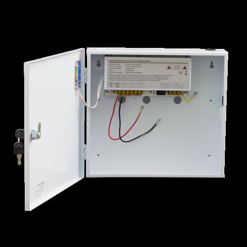 Sursa de alimentare 12V/10A, back-up in cabinet metalic [0]