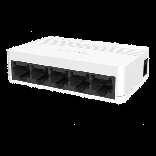 Switch 5 porturi 10/100 Mbps - HIKVISION DS-3E0105D-E [0]