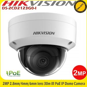Camera supraveghere video IP  2 MP Hikvision DS-2CD2123G0-I 2.8mm IR 30m, WDR, IK10, H.265/H.264, IP67 [0]