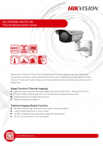 Camera video supraveghere IP Thermal Hikvision DS-2TD2336-50 [1]