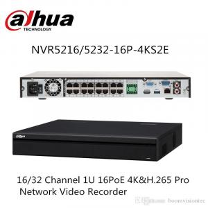 NVR H.265 4K 16 CANALE 16 PORTURI POE DAHUA NVR5216-16P-4KS2E [0]