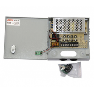Sistem supraveghere complet 4 camere  Hikvision 2MP IR 80m cu DVR Dahua Pentabrid FULL HD, accesorii [1]